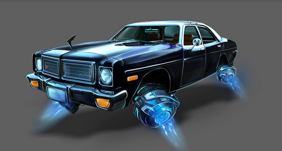 Hover Car (Concept Art)