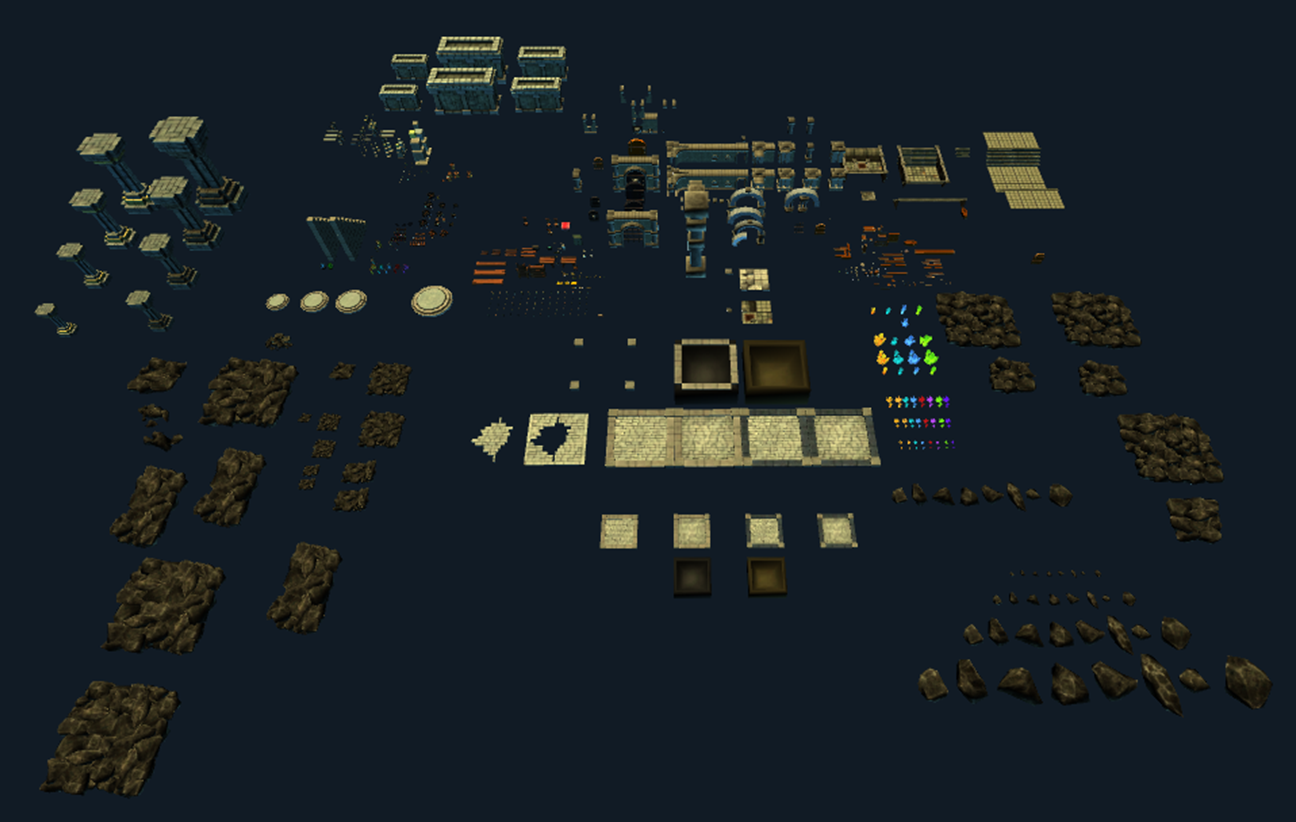 Some Lower Quality Enviroment Assets