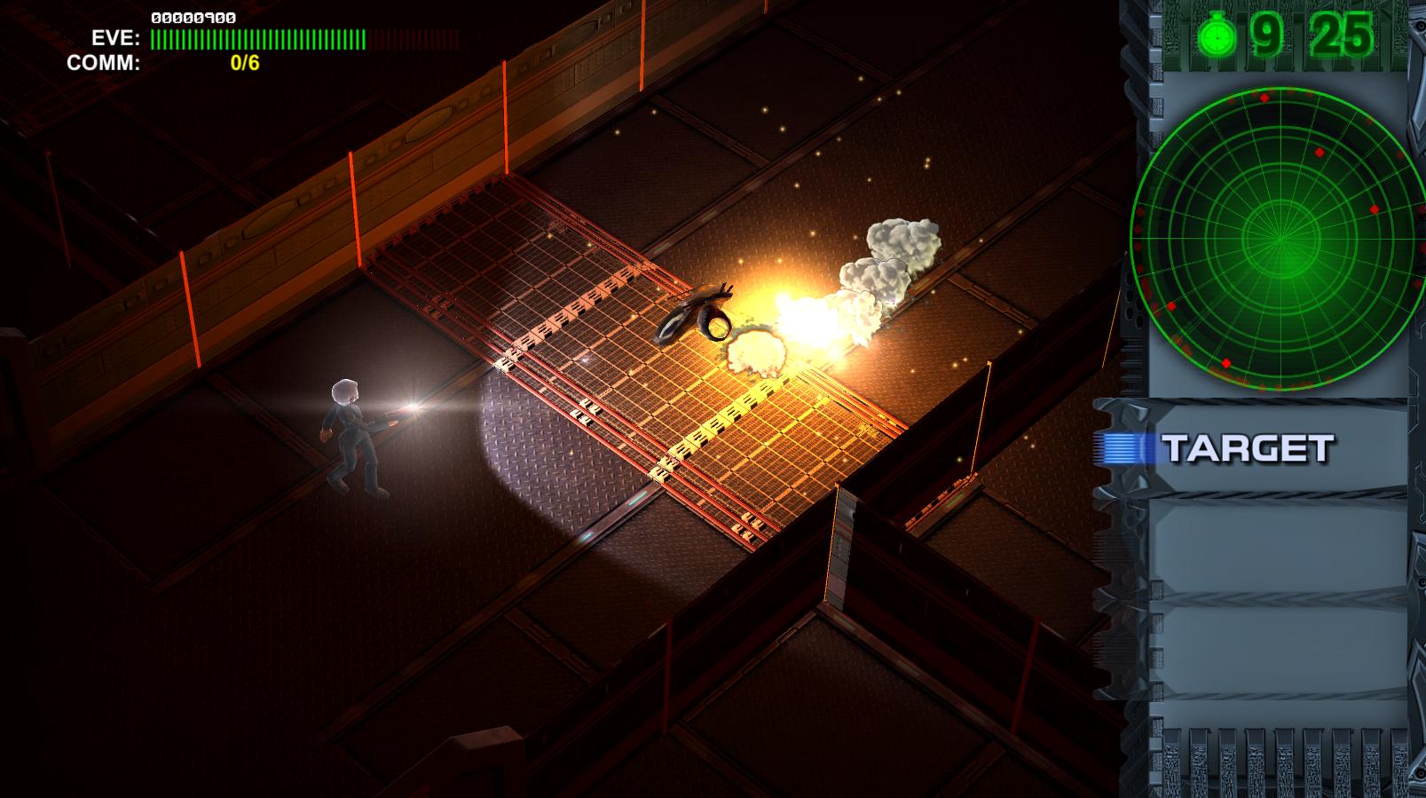 Panther Sci-Fi Isometric Adventure Cyberpunk