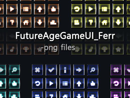 FutureAgeGameUI_Free