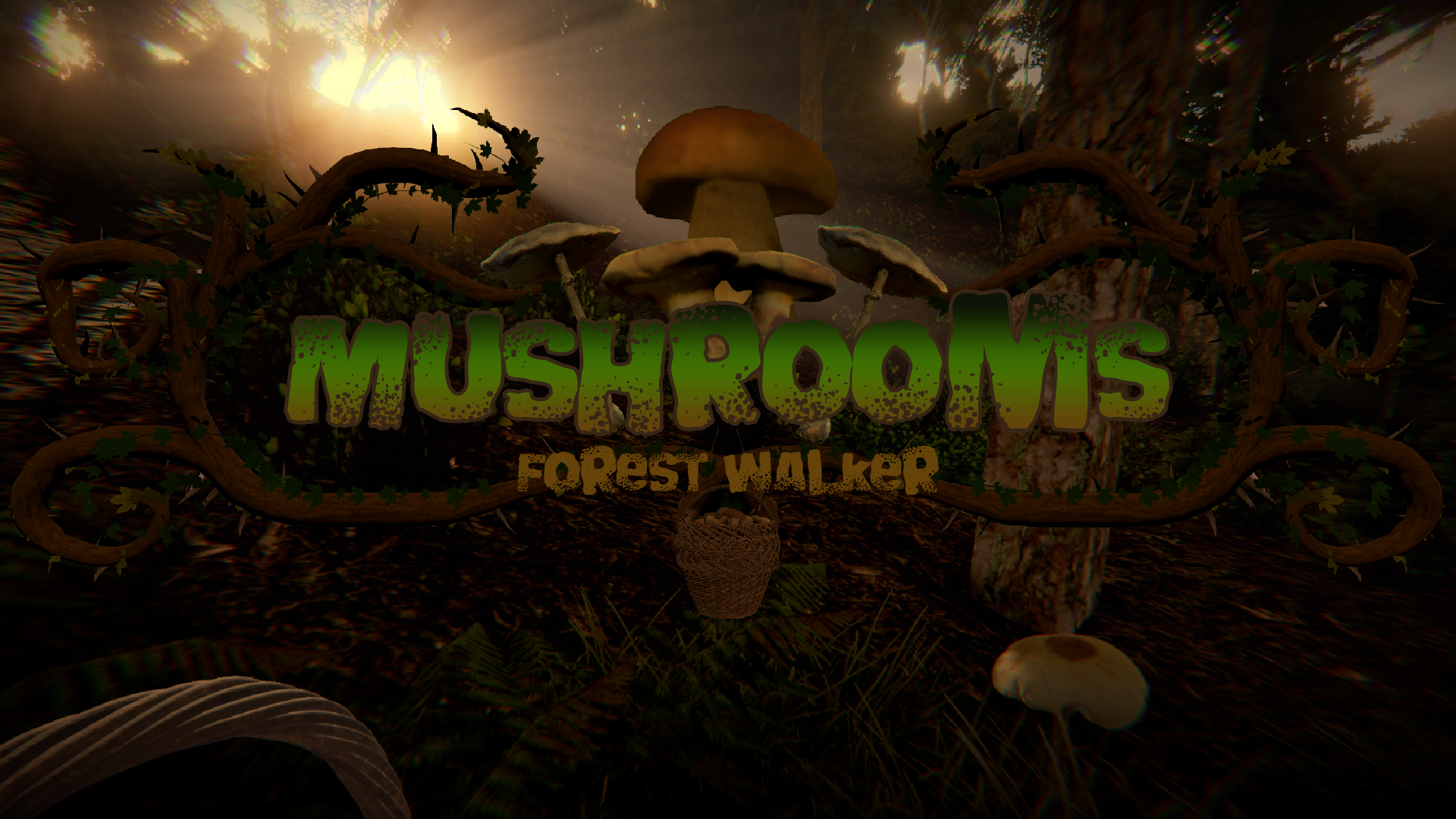 Mushrooms: Forest Walker