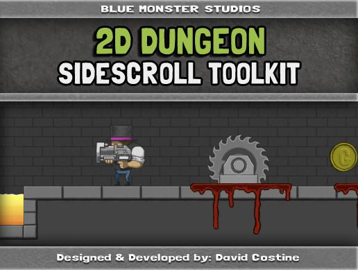 2D Dungeon Sidescroll Toolkit