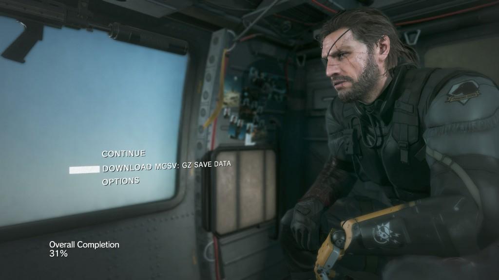 Metal Gear Solid Menu Prototype In Unity 3D