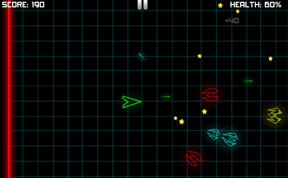 Neon Space Fighter