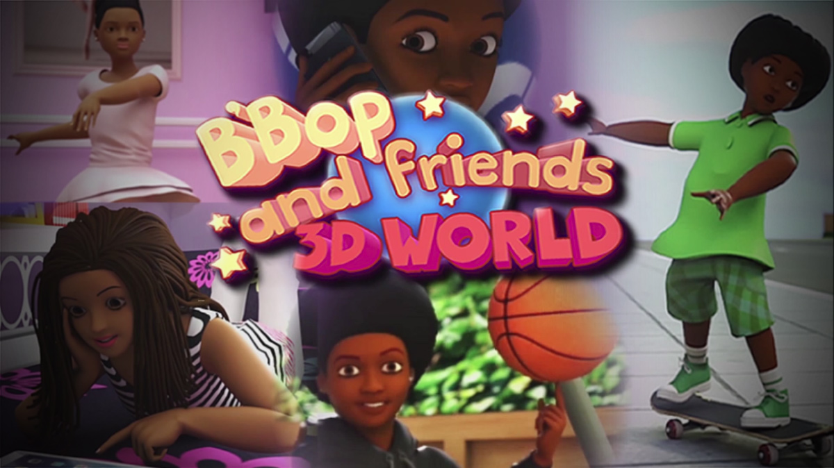 B'Bop And Friends 3D World