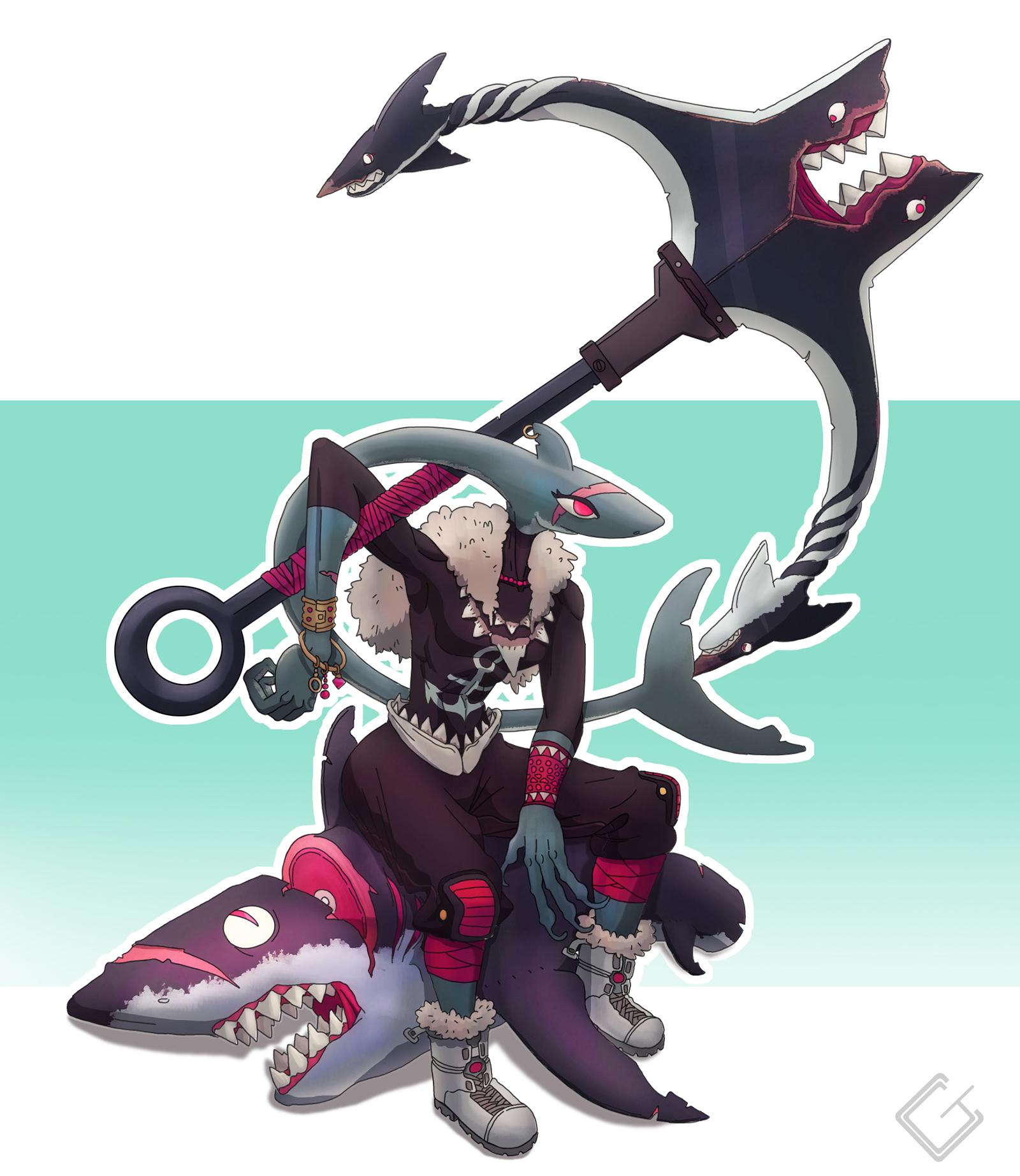Shark Mercenary
