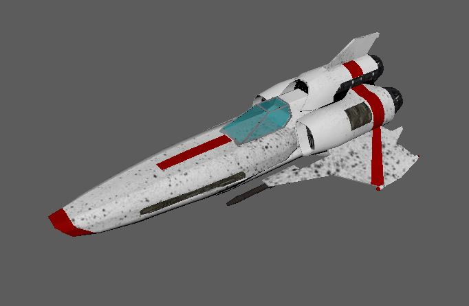 WIp BattleStar Galactica Viper