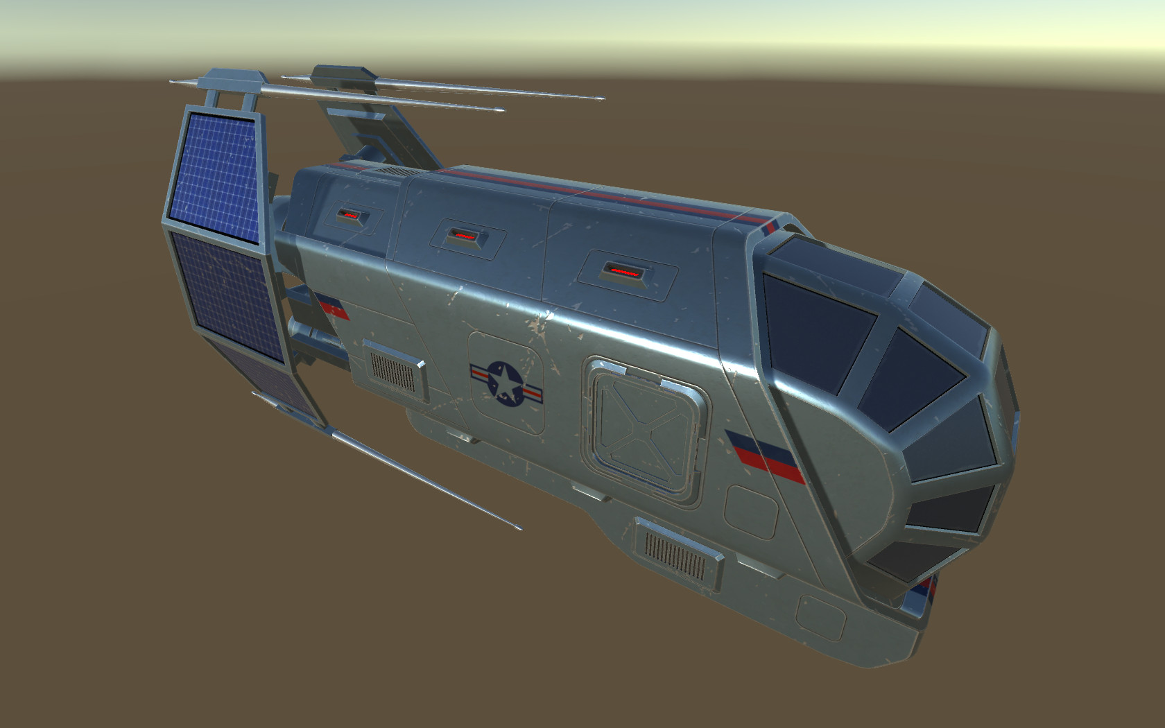 "Spaceship ""Patriot"" Type 2"