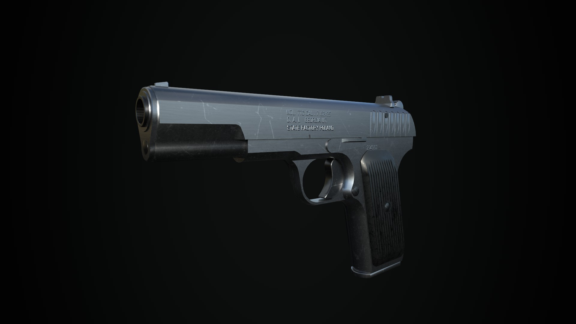 TT-33 Pistol Asset