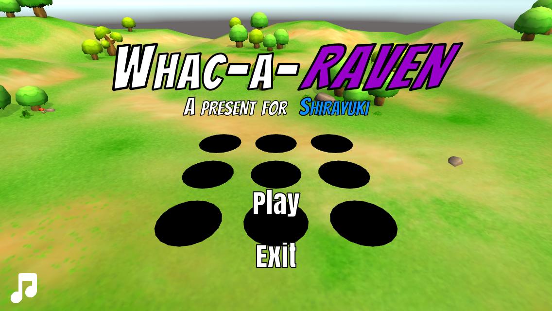 Whac-A-Raven