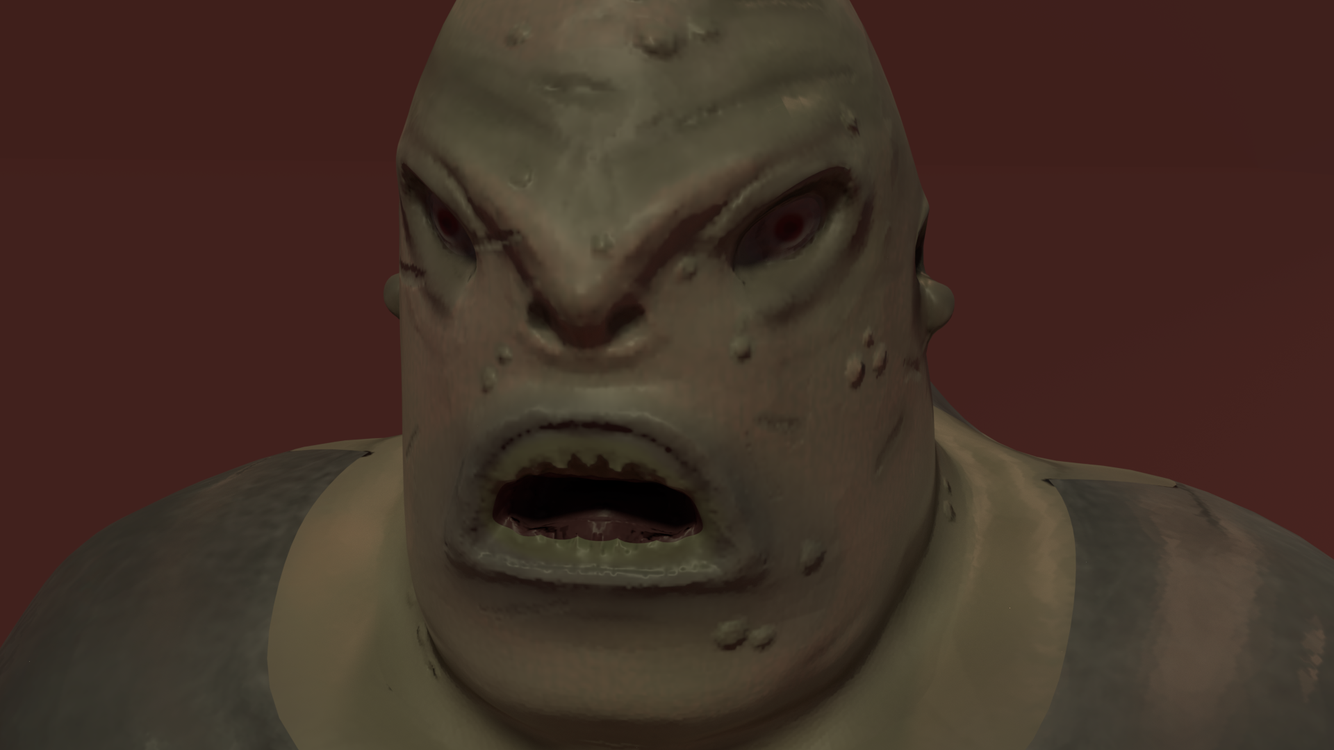 Monster Soldier low poly