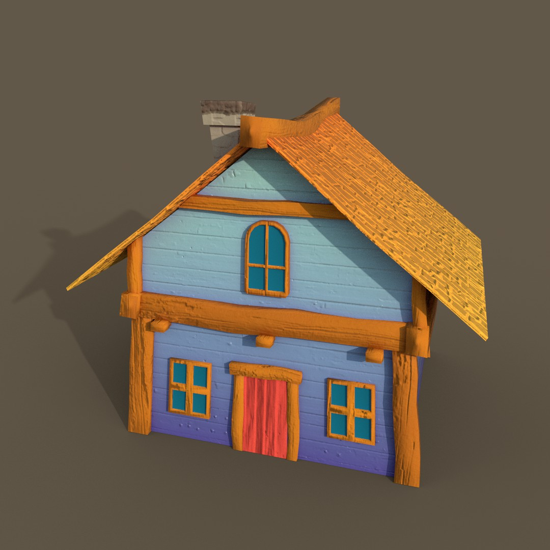 Stylized Cottage
