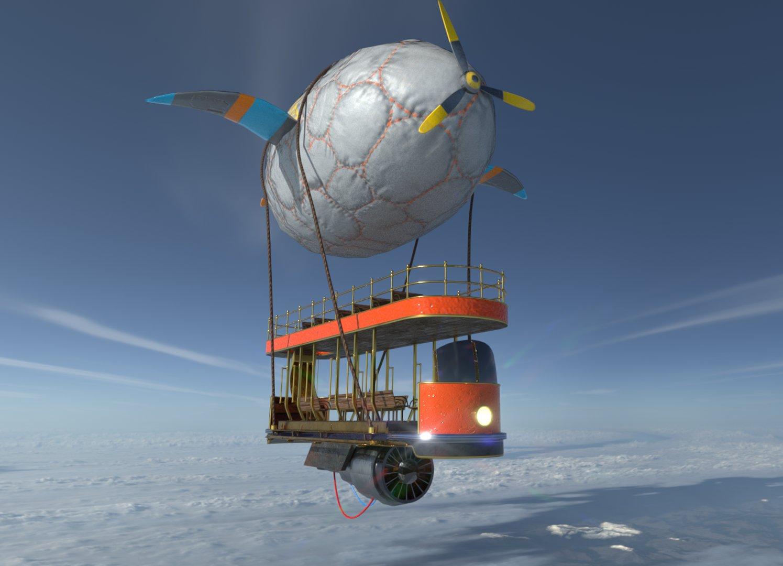 Blimp tram wip