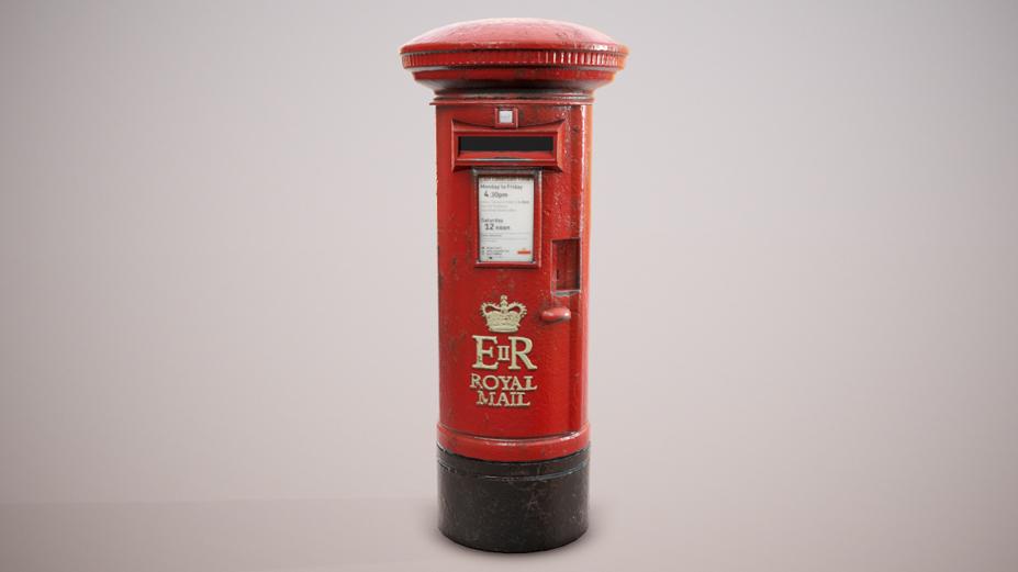 PBR British Postbox