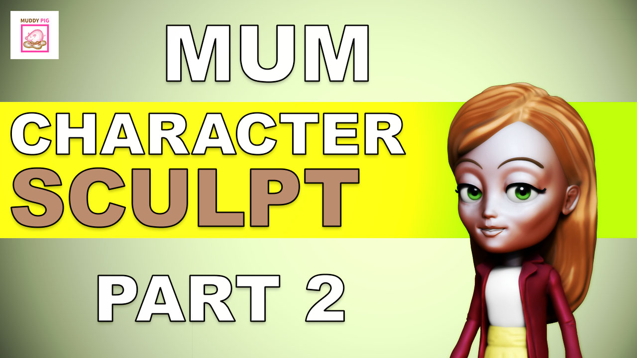 Book Illustration: Mum Character.