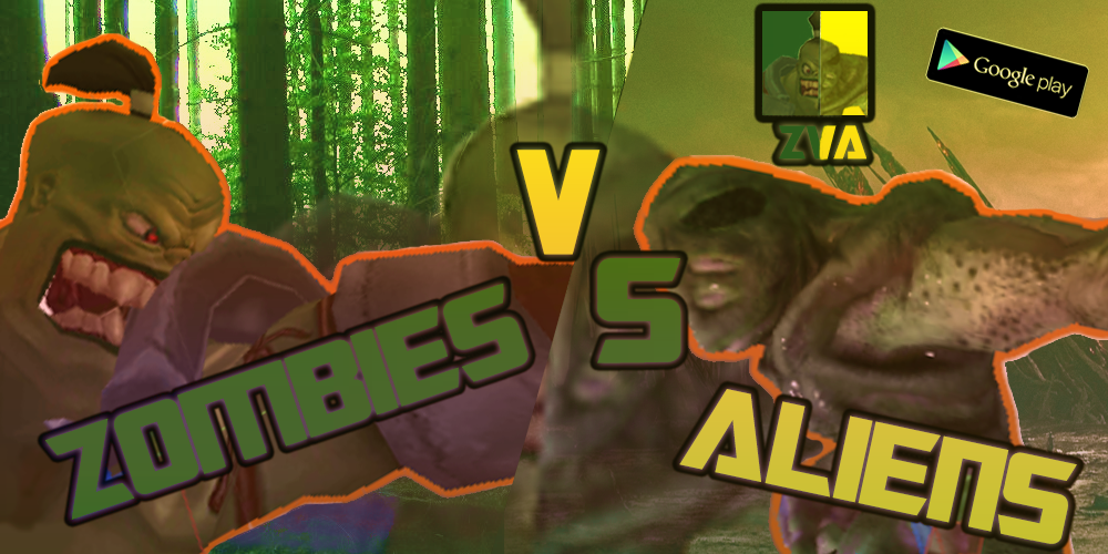 Zombies Vs Aliens (Alpha version)