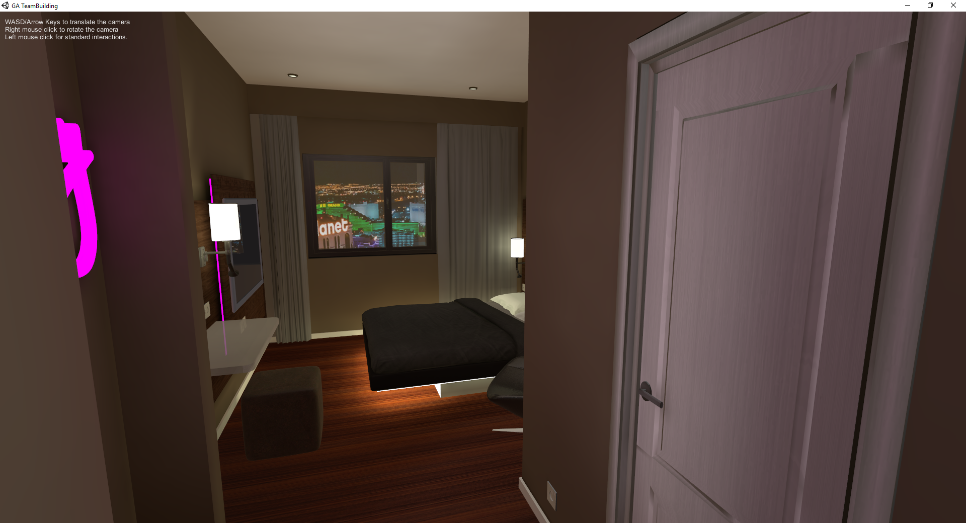 SweetHome VR - Hotel Realisation
