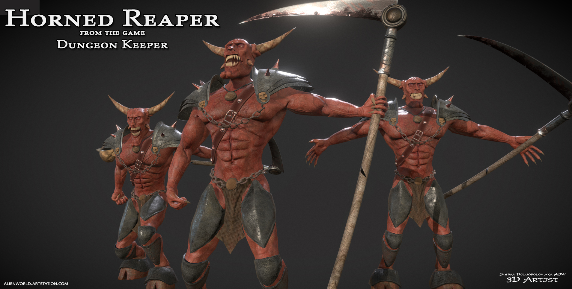 Horned Reaper (Dungeon Keepers)