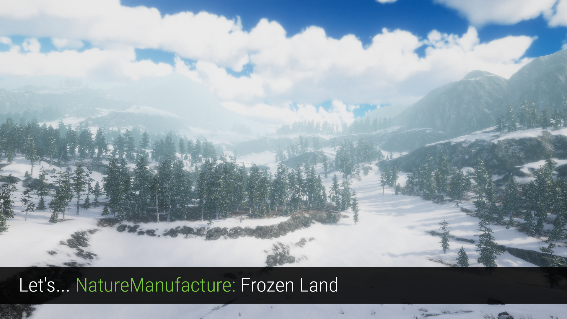 Let's... NatureManufacture - Frozen Land (Tutorial)