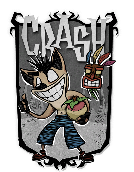 Crash Bandicoot Mod for Don't Starve Together