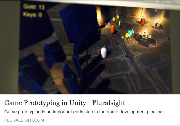 Game Prototyping in Unity - Tutorial