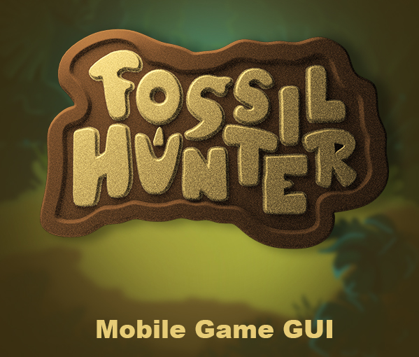 Fossil Hunter Game GUI