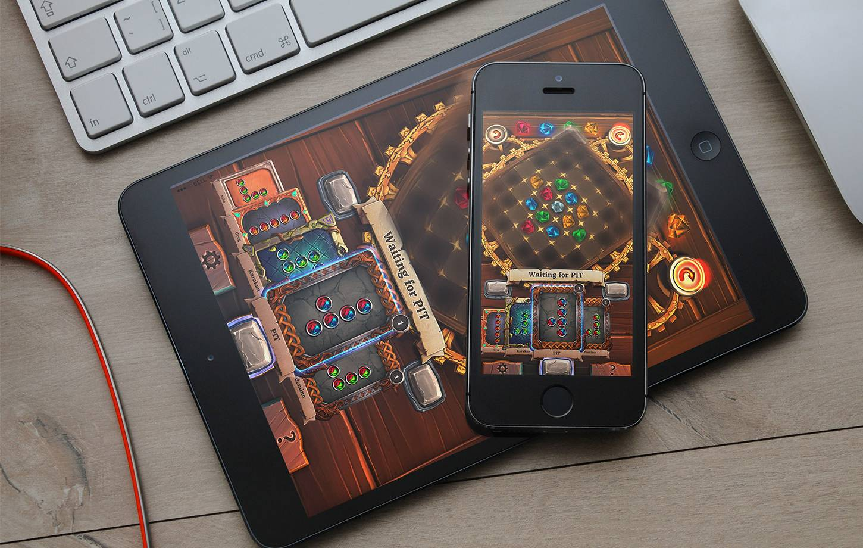 Molus Gems 2 - mobile game