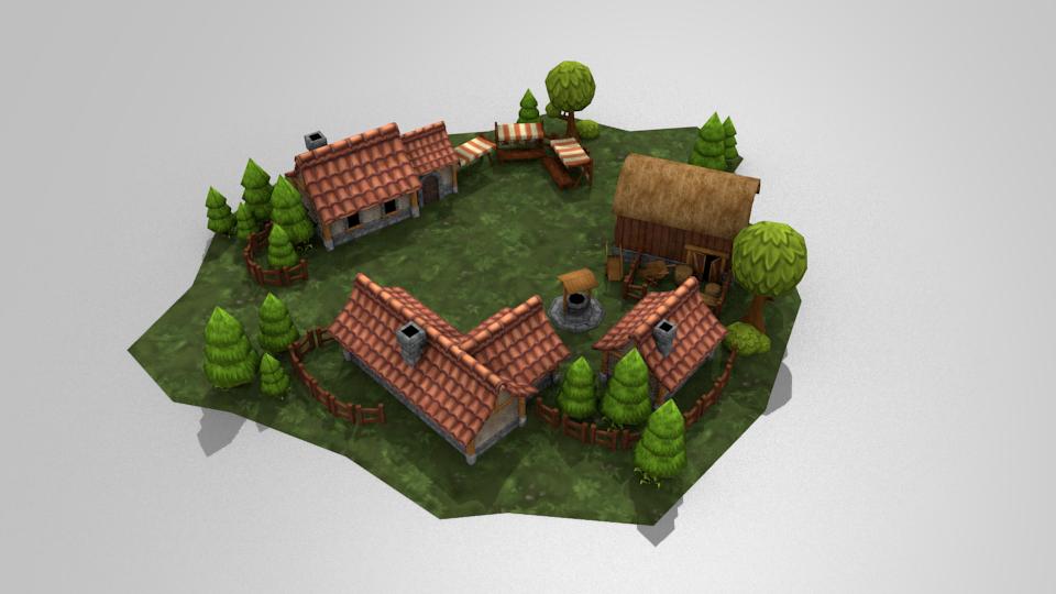 Village Scenes
