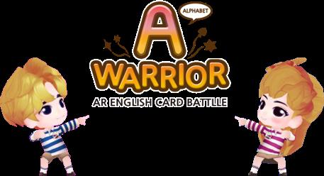 AR 기능성 영어 학습 카드게임 알파벳 워리어