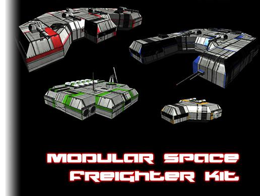 Modular Space Freighter
