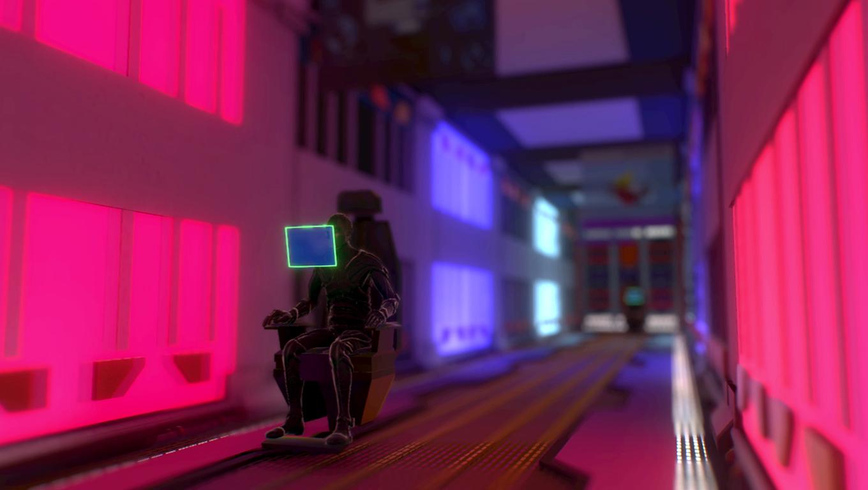 Neon Space City