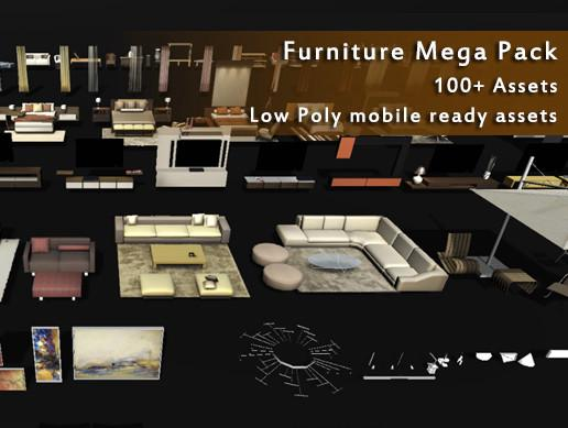 Furniture Mega Pack