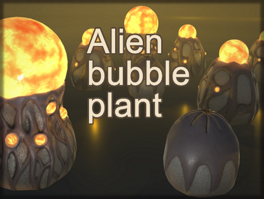 Alien bubble plant
