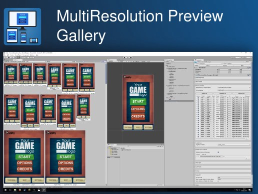 MultiResolution Preview Gallery