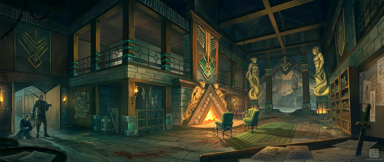 Hunters' Hall Interior