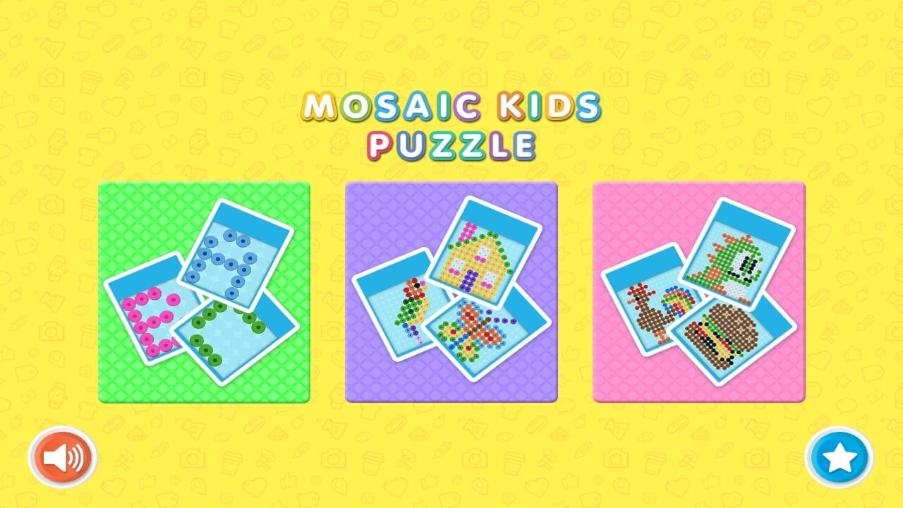 Mosaic Kids Puzzle