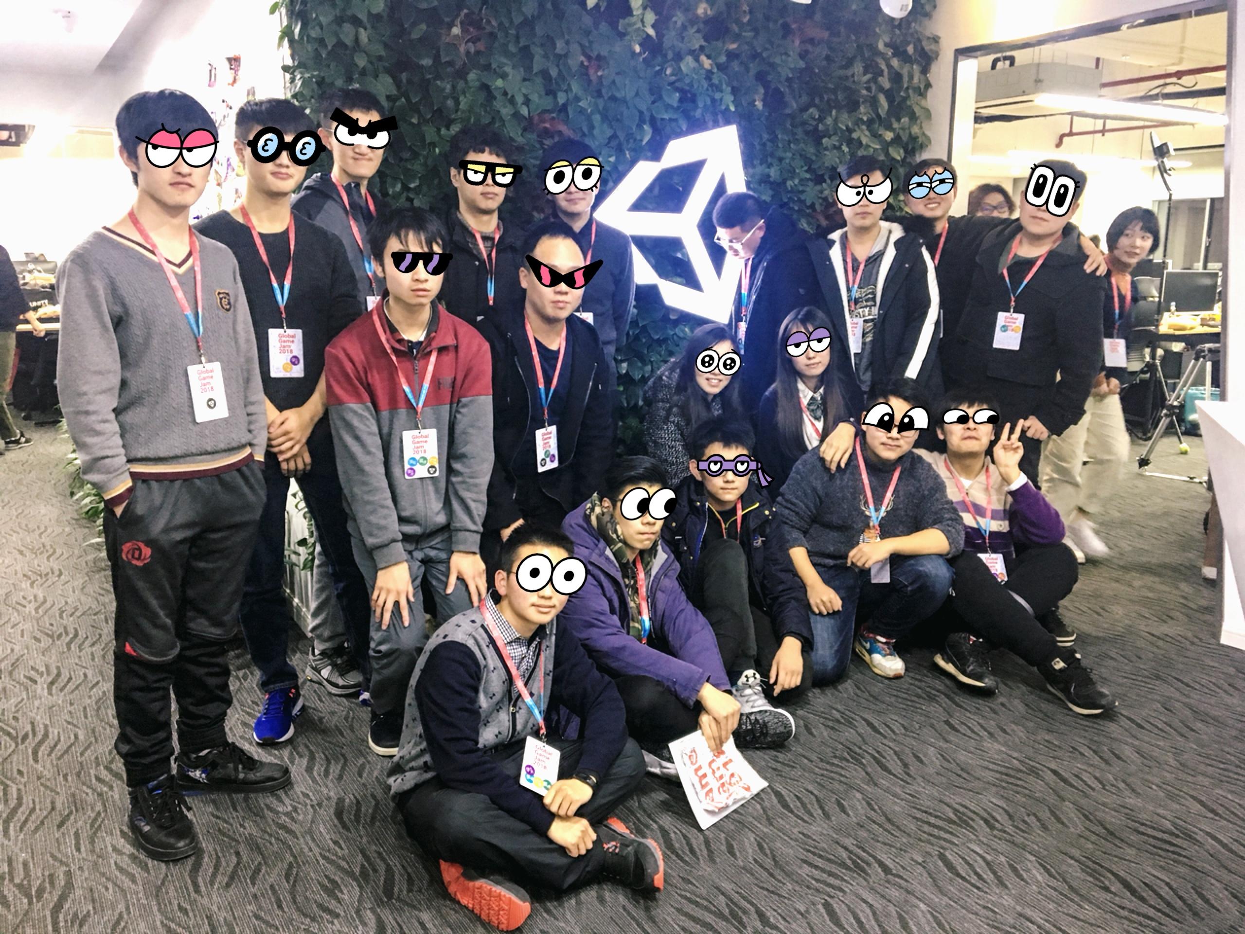 Global Game Jam 2018 记录(附录:蒸汽独游社作品合集)