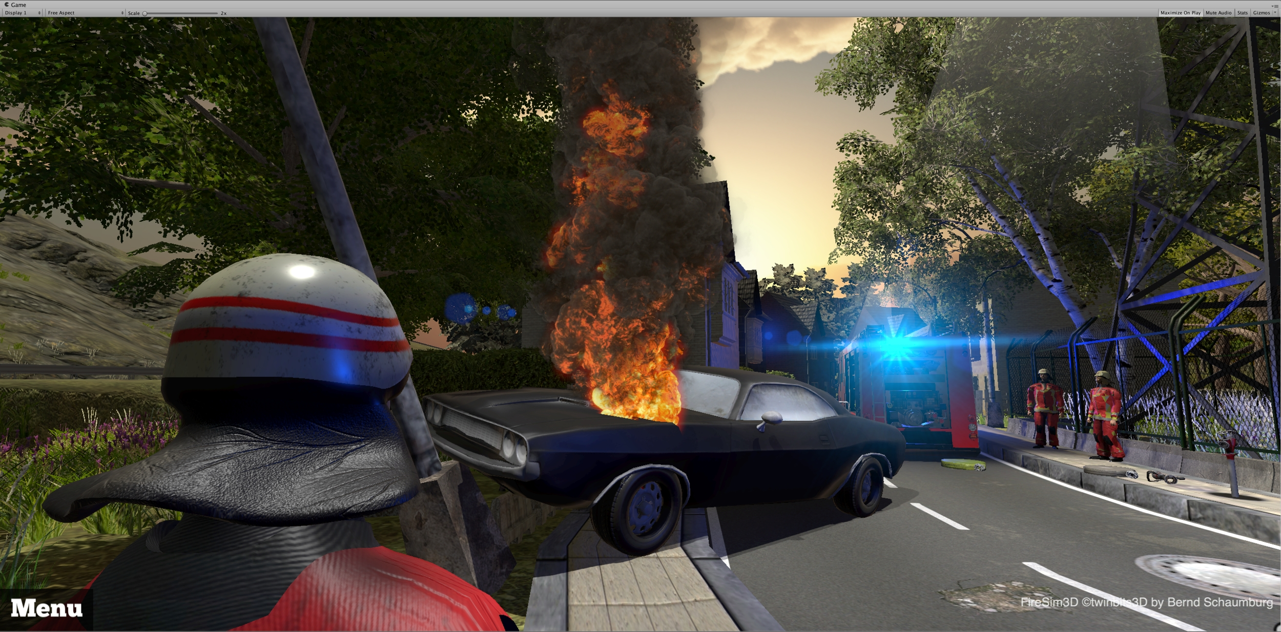 FireSim3D