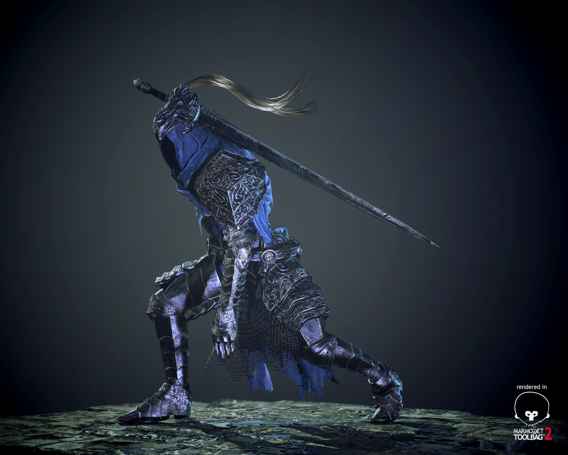 Artorias, The Abiss Walker-Dark Souls