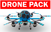 Professional Drone Pack : version 2.0