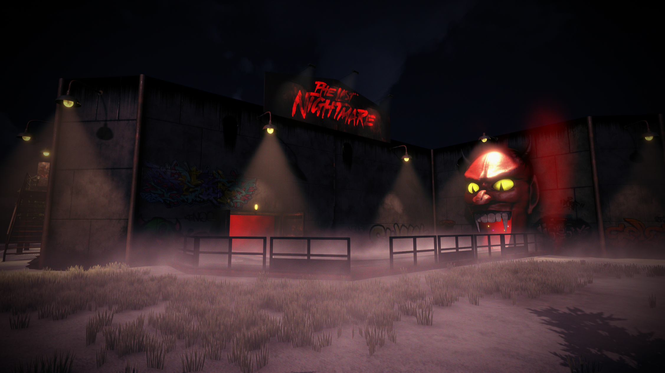 The Last Nightmare project (Cancelled) Source Available