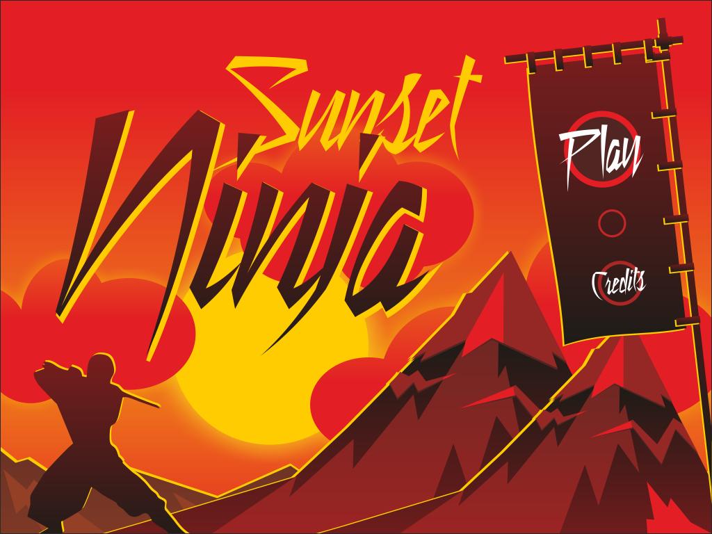Sunset ninja