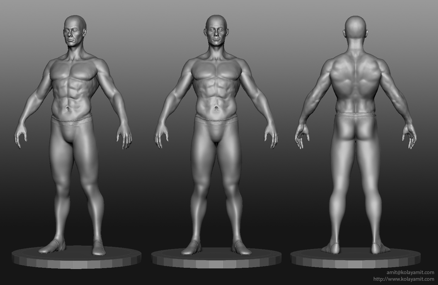 Male Gymnast Sculpt