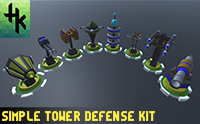 Simple Tower Defense Kit