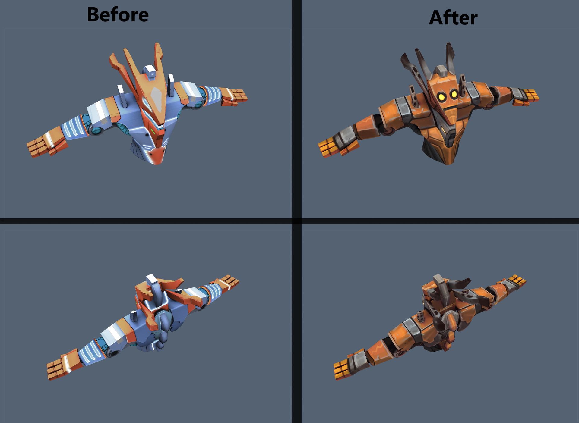 Texture re-design