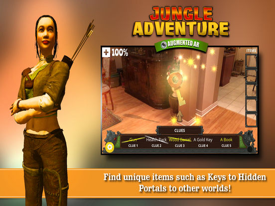 Augmented AR Jungle Adventure