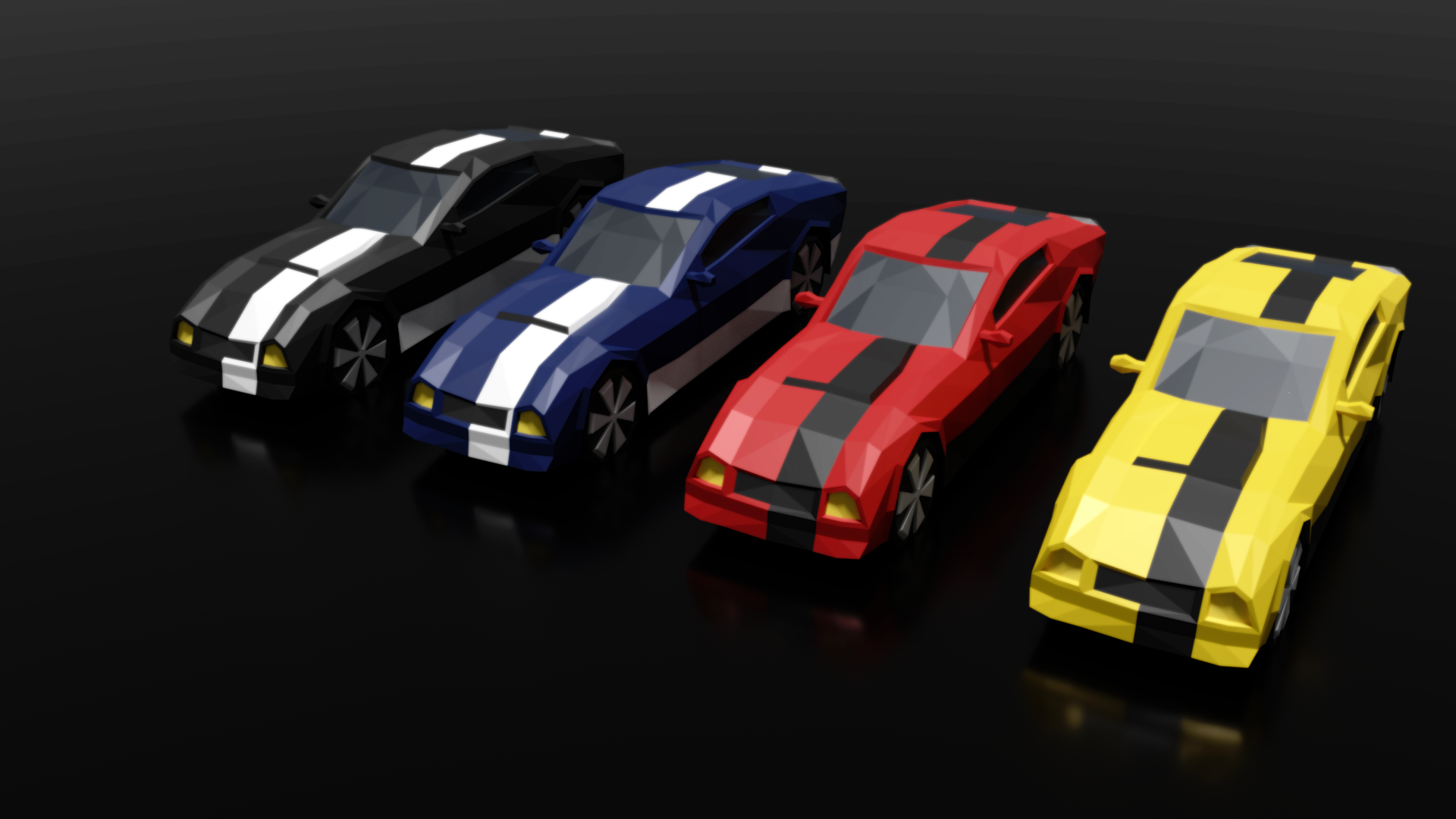 Low Poly Car Pack