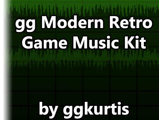 gg Modern Retro Game Music Kit