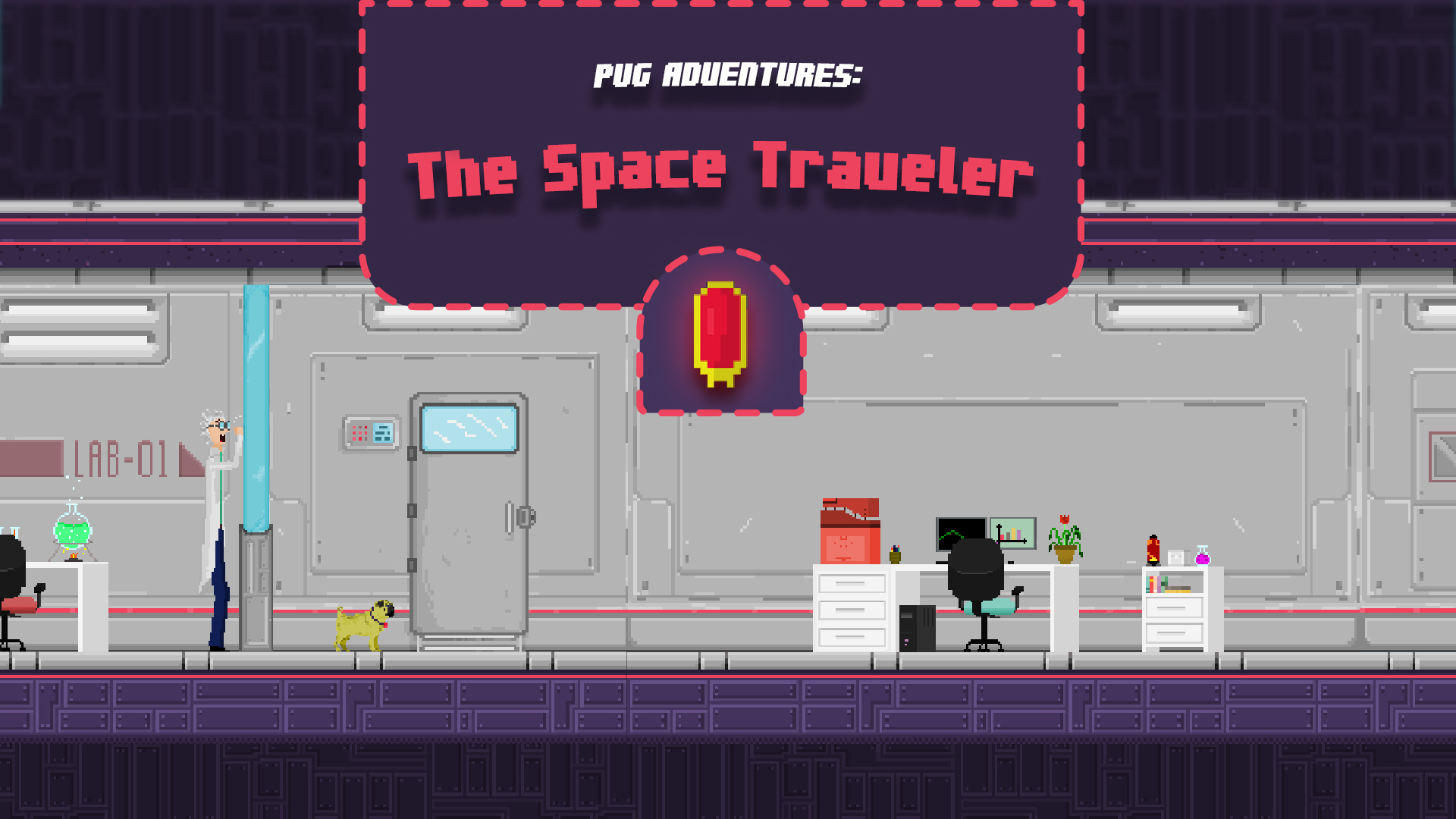 The Space Traveling Pug