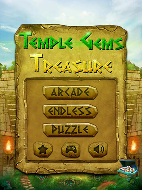 Temple Gems Treasure Pro